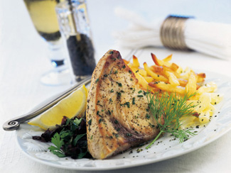 Lemon Grilled Swordfish