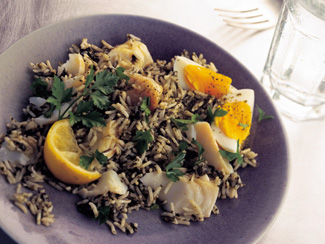 Kedgeree with Laver
